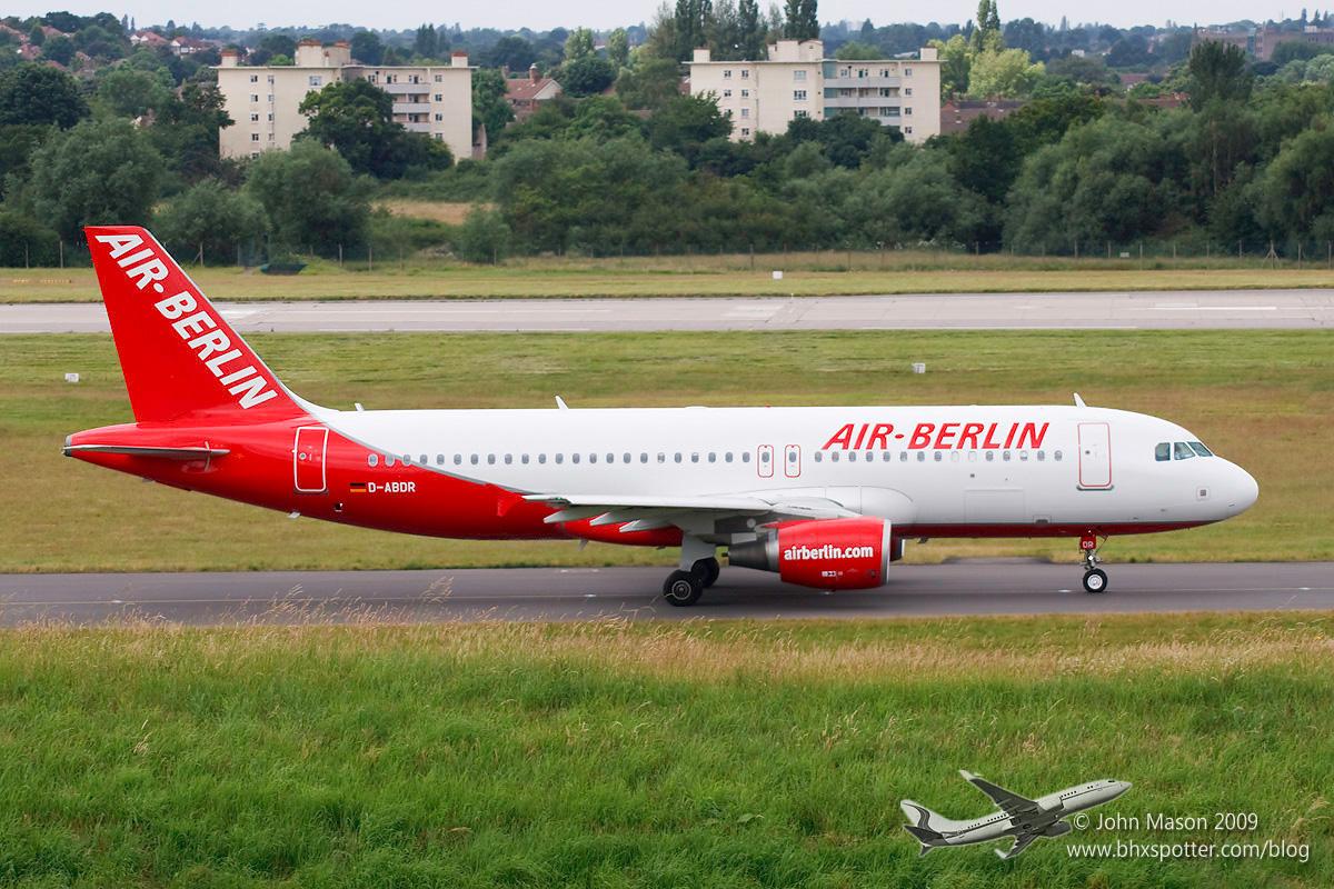 D-ABDR A320 AIR BERLIN