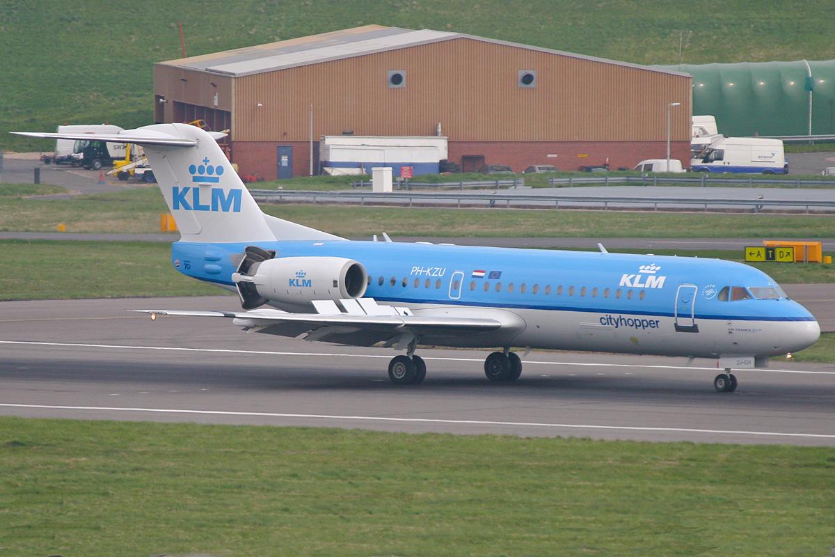 PH-KZU F70 KLM