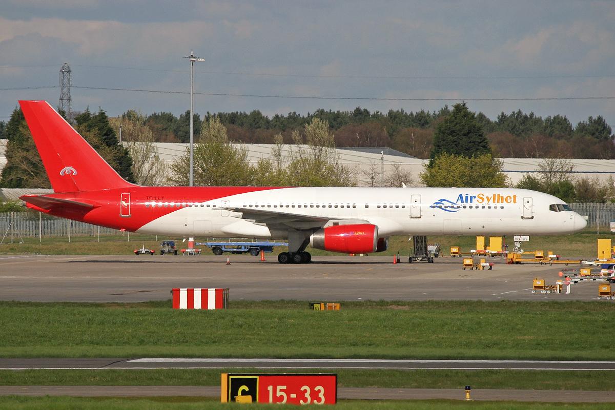 TF-LLY B752 AIR SYLHET