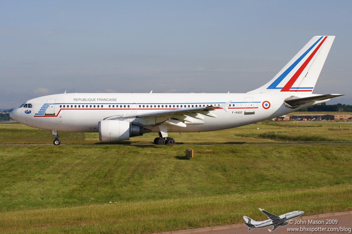 F-RADC A310 FAF