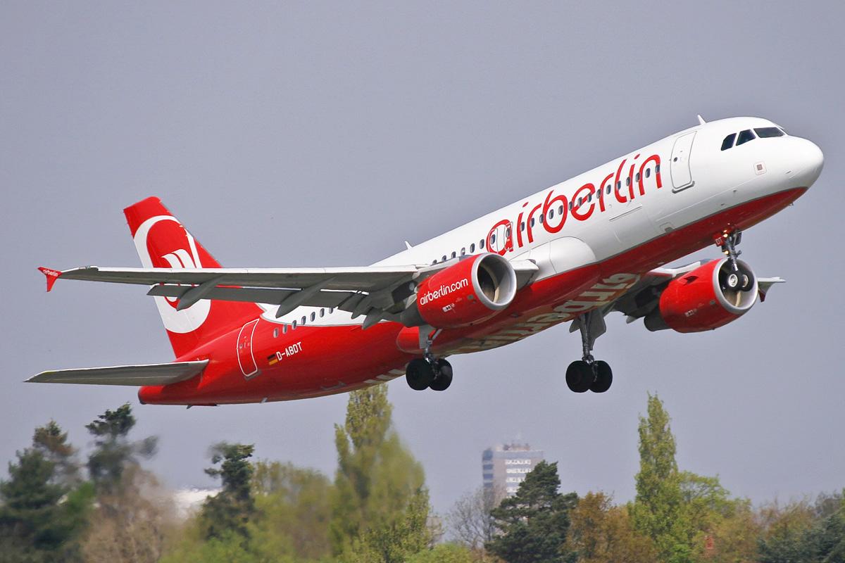 D-ABDT A320 AIRBERLIN