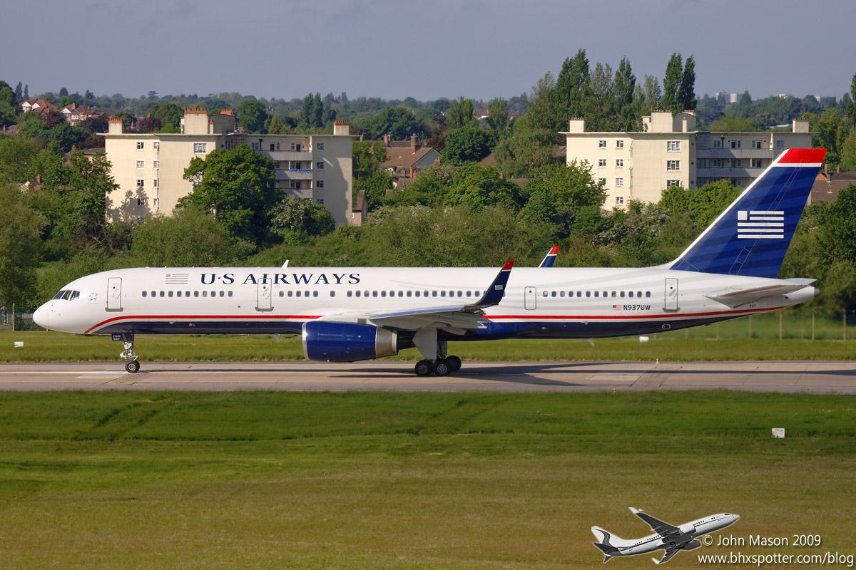 N937UW B757W US AIRWAYS