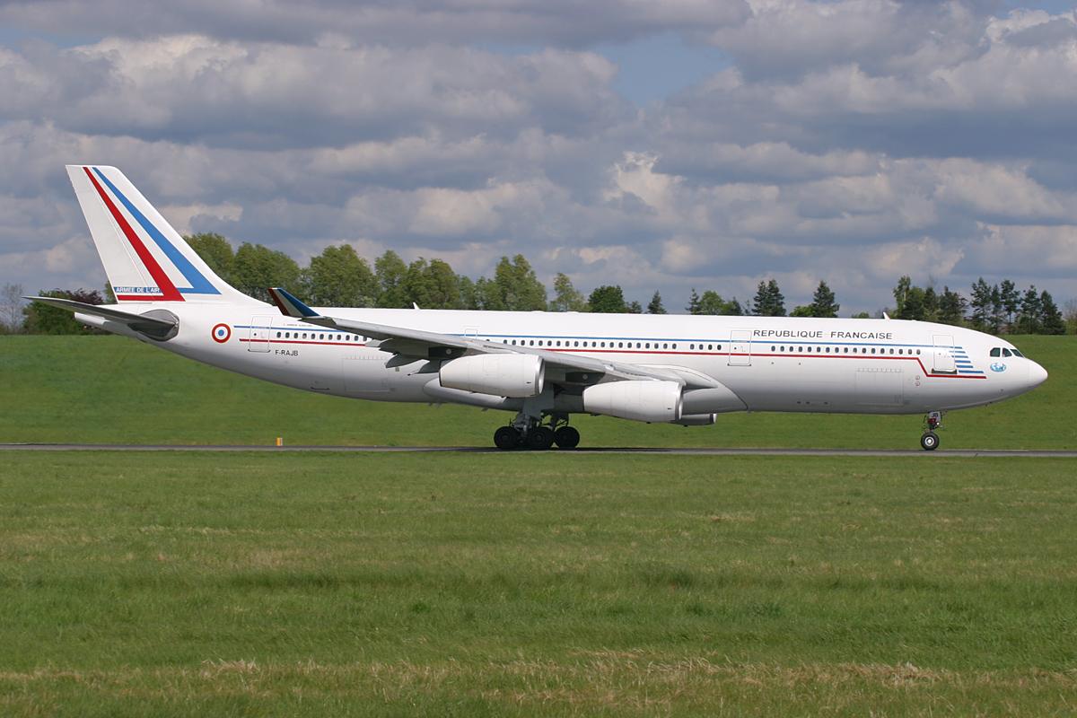 F-RAJB A342 FAF