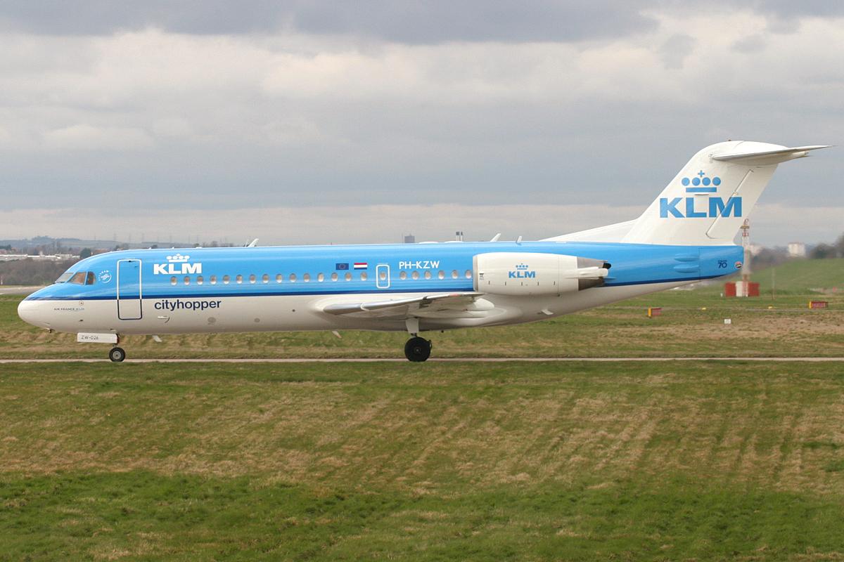 PH-KZW FK70 KLM