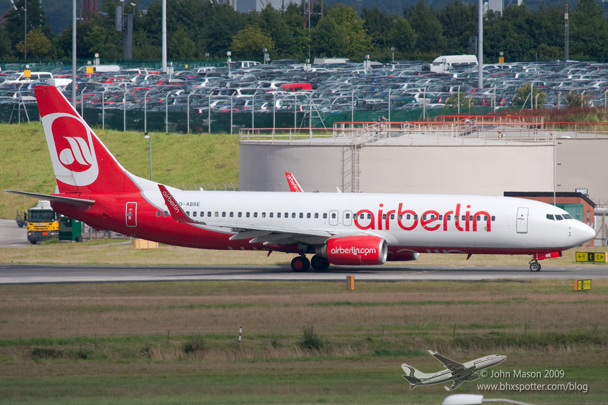 D-ABBE B737 Air Berlin
