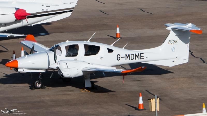 G-MDME DA62 FLIGHT CALIBRATION SERVICES.