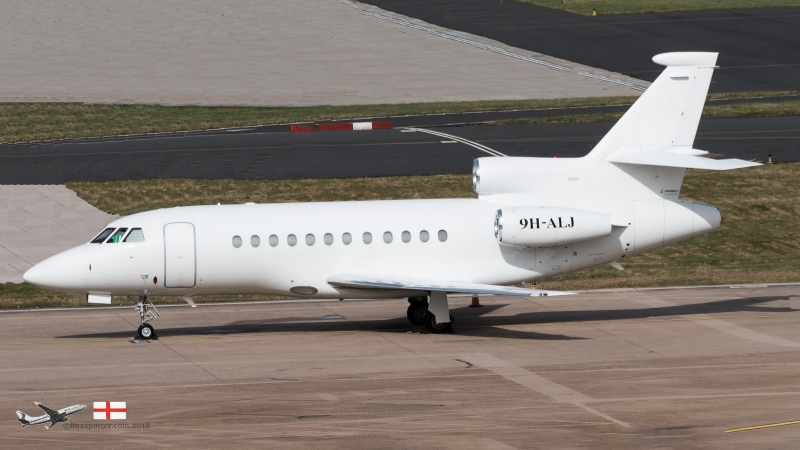 9H-ALJ F9EX AIR CM GLOBAL