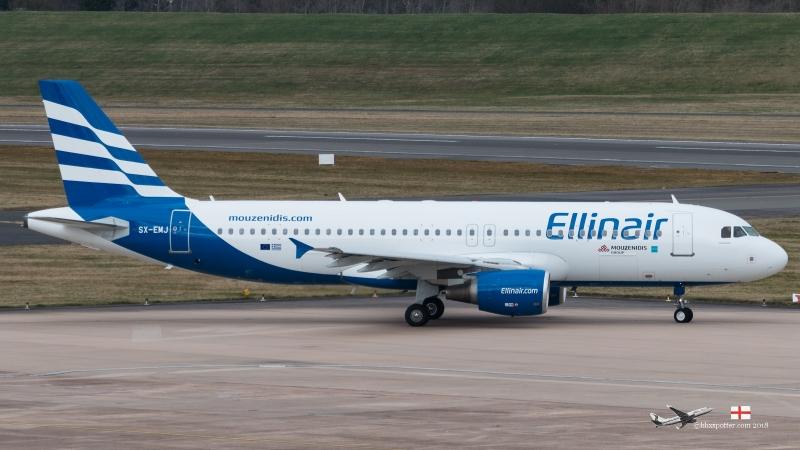 SX-EMJ A320 ELLINAIR
