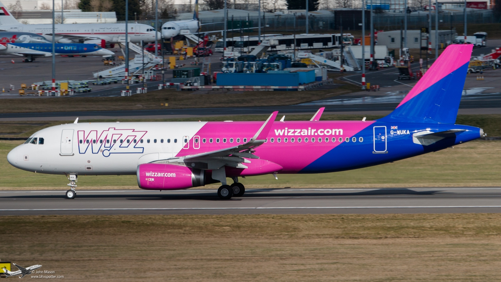 G-WUKA A320SL WIZZAIR UK.